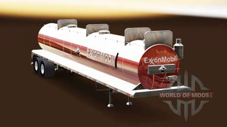 Skin ExxonMobil on the tank for acids for American Truck Simulator