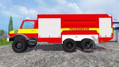 Mercedes-Benz Unimog U1300L [feuerwehr] for Farming Simulator 2015