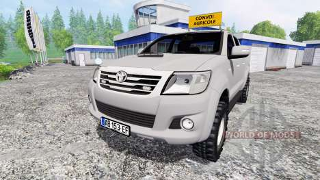 Toyota Hilux [convoi agricole] v2.0 for Farming Simulator 2015