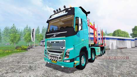 Volvo FH [forest] for Farming Simulator 2015