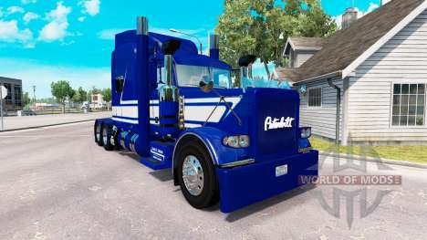 Скин Jack C. Moss Trucking Inc. на Peterbilt 389 for American Truck Simulator