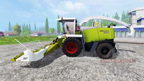 CLAAS Jaguar 890 for Farming Simulator 2015