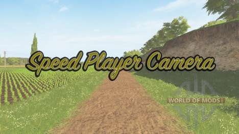 Speed change walking speed v1.1 for Farming Simulator 2017
