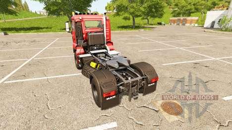 MAN TGS 18.480 for Farming Simulator 2017