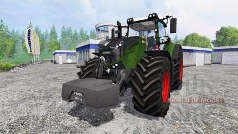 Fendt 1050 Vario [washable] v3.0 for Farming Simulator 2015