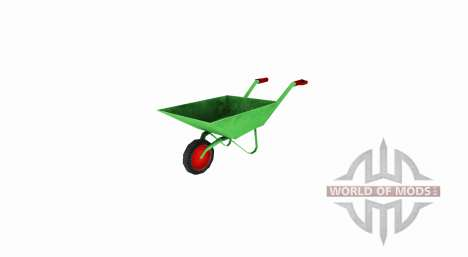 Garden wheelbarrow for Farming Simulator 2017