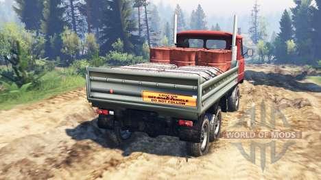 UAZ-33036 6x6 v2.0 for Spin Tires