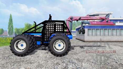 Ford 8340 [forestry] for Farming Simulator 2015