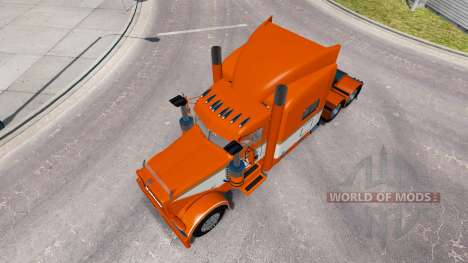 Скин Tri-State Commodities на Peterbilt 389 for American Truck Simulator
