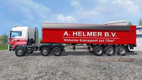 MAN TGS A. Helmer B.V. for Farming Simulator 2015