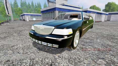 Lincoln Town Car Limousine for Farming Simulator 2015