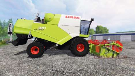 CLAAS Tucano 320 for Farming Simulator 2015