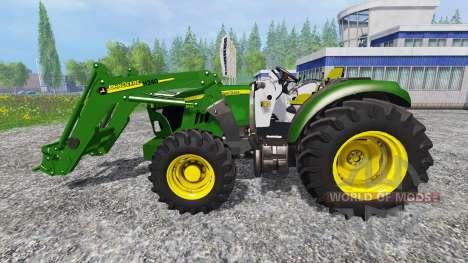 John Deere 5115M [pack] for Farming Simulator 2015