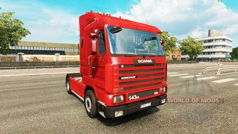 Scania 143M 500 for Euro Truck Simulator 2
