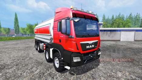 MAN TGS 41.480 ESSO for Farming Simulator 2015