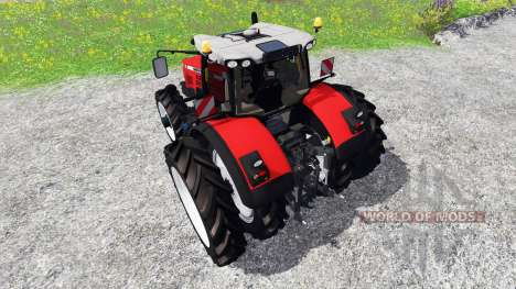 Massey Ferguson 8737 [row crops] for Farming Simulator 2015