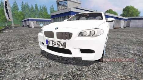 BMW M5 (F10) 2011 for Farming Simulator 2015