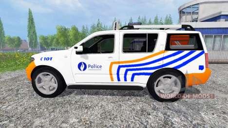 Nissan Pathfinder [federal police] for Farming Simulator 2015