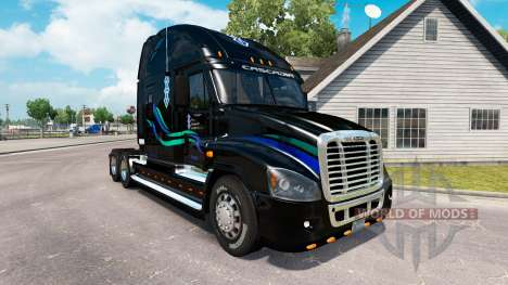 Скин John Christner на Freightliner Cascadia for American Truck Simulator