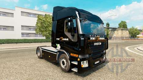 Tegma Logistic skin for Iveco tractor unit for Euro Truck Simulator 2