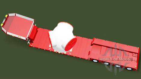 Low sweep with the load of the rotor of the wind for Euro Truck Simulator 2