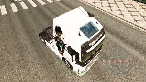 Hannibal skin for Volvo truck for Euro Truck Simulator 2