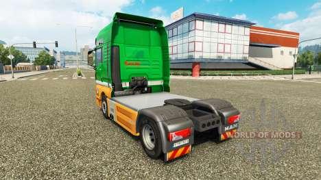 Karcag Trans skin for MAN truck for Euro Truck Simulator 2