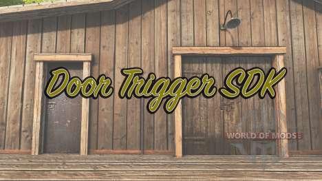Door Trigger SDK for Farming Simulator 2017