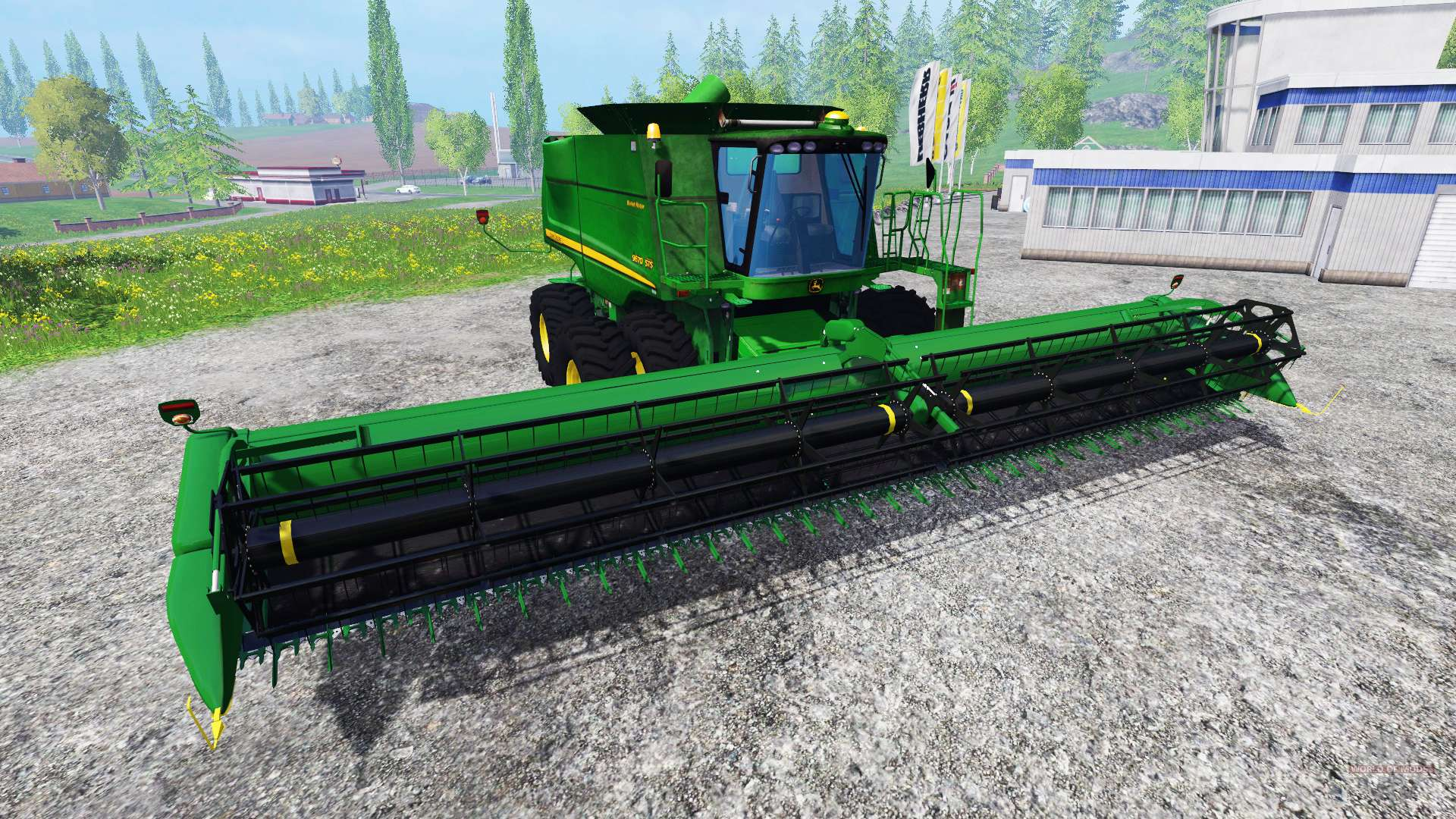 john deere 9670 sts v2 0 for farming simulator 2015 rh worldofmods com john deere 9760 sts manual John Deere 9670 STS Crary Big Top