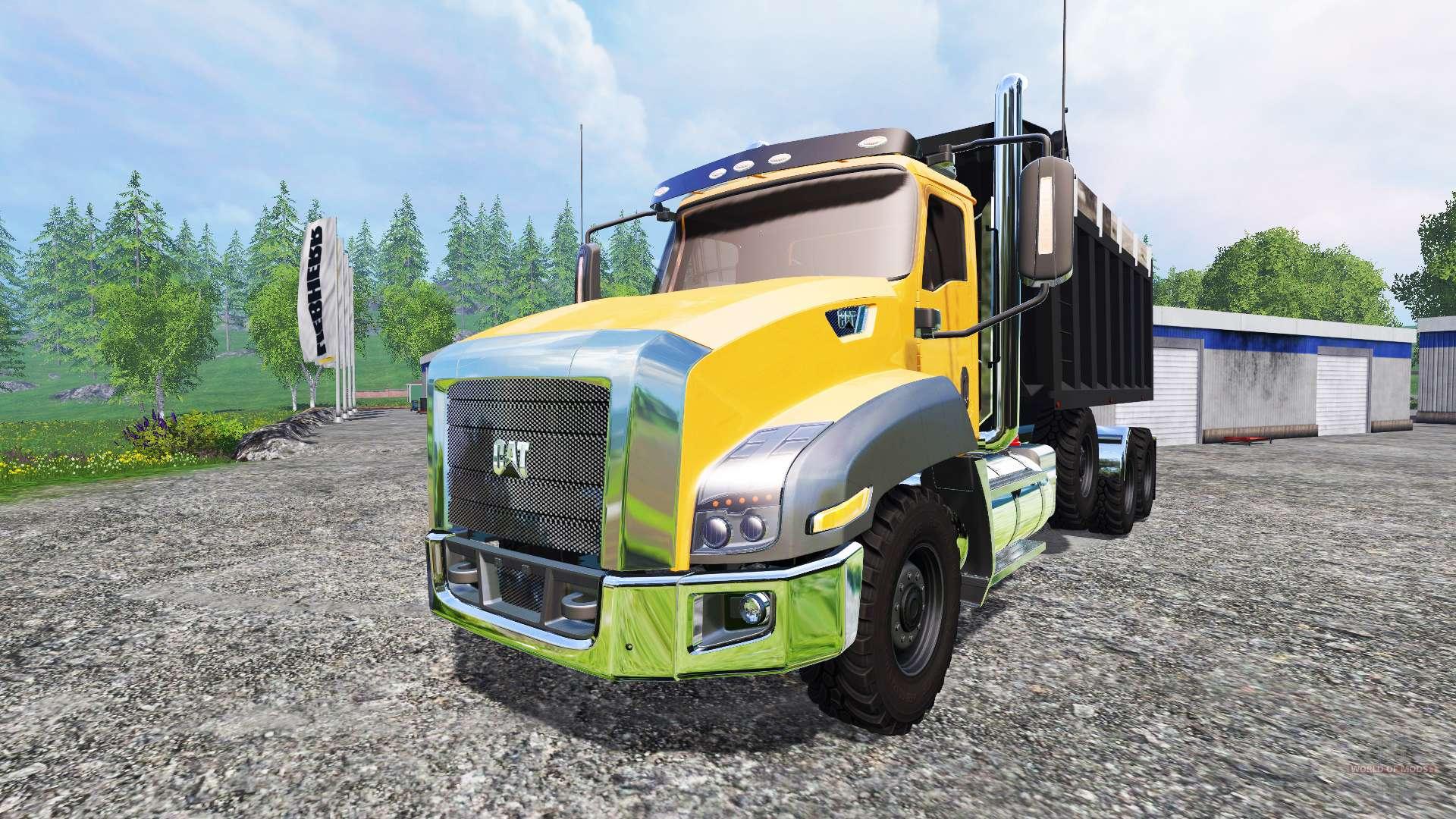 Caterpillar CT660 [color swap] for Farming Simulator 2015