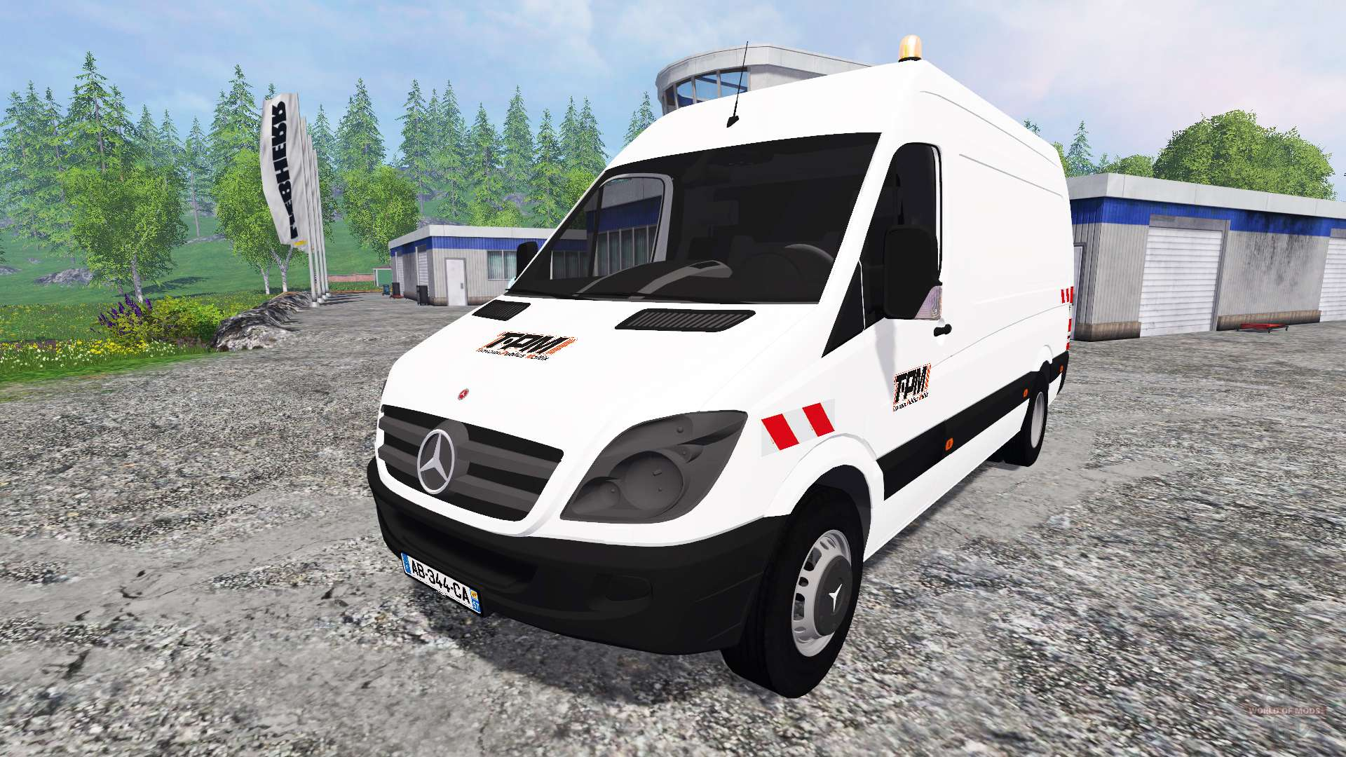 mercedes benz sprinter pack for farming simulator 2015. Black Bedroom Furniture Sets. Home Design Ideas