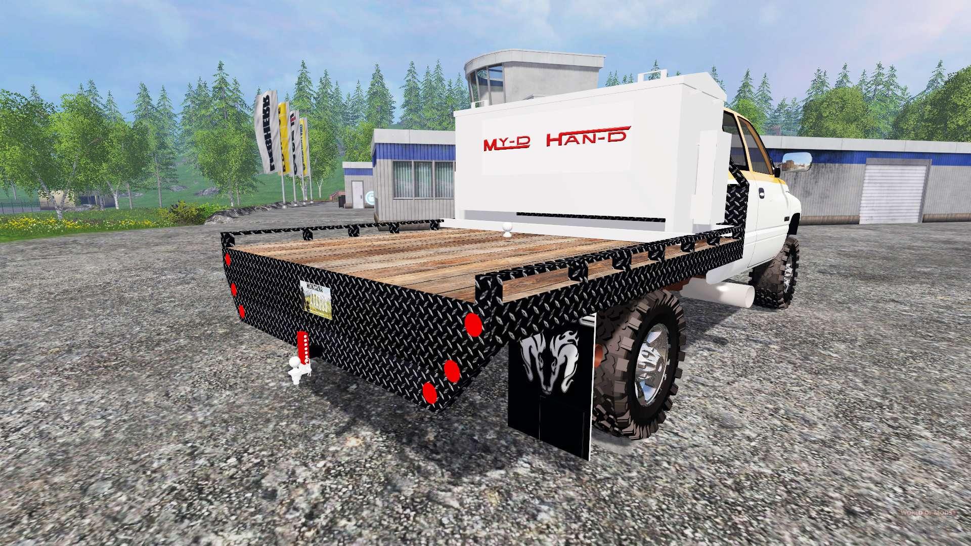 dodge ram 2500  feed truck  for farming simulator 2015
