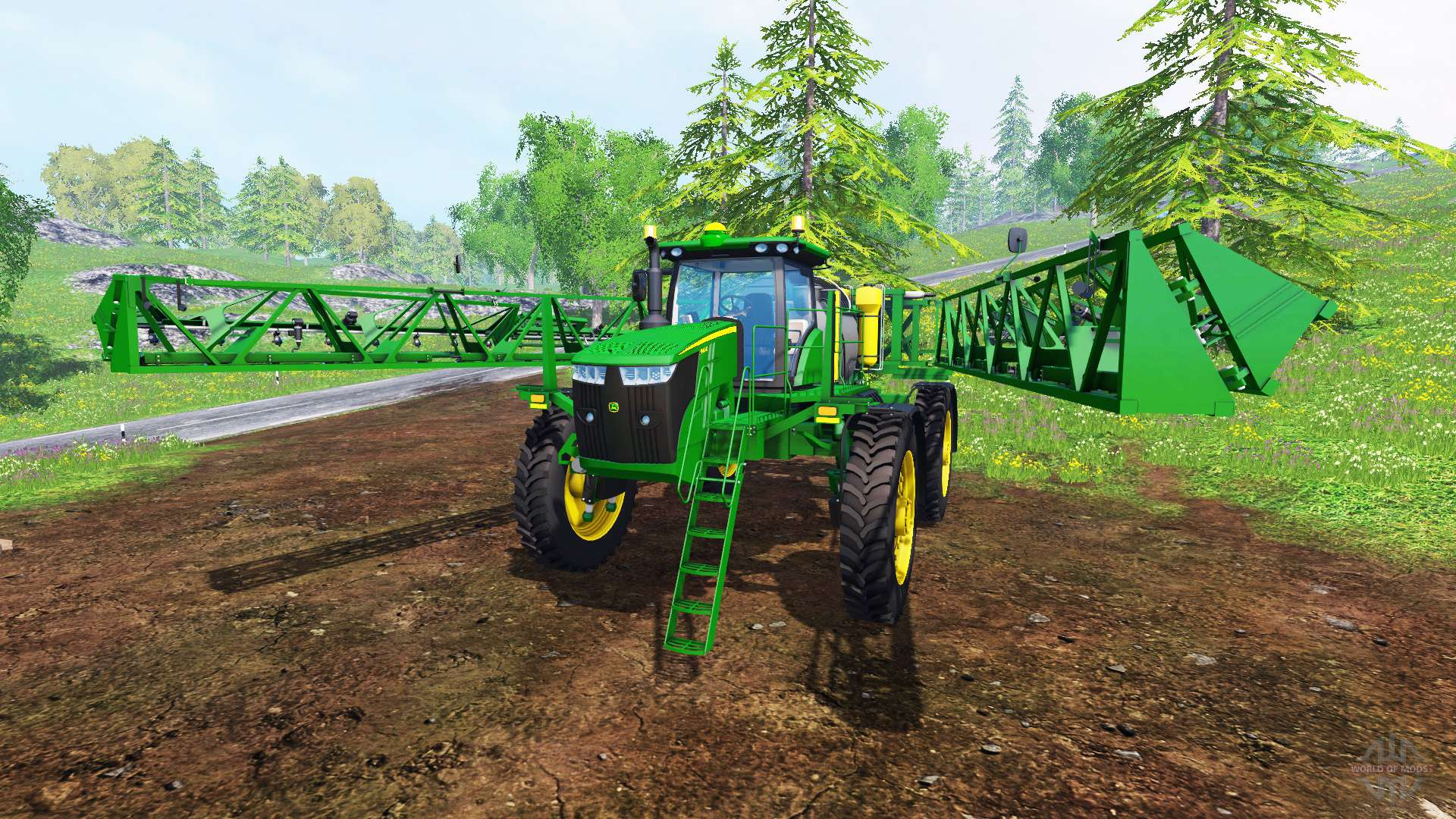 John Deere Skid Steer >> John Deere R4045 for Farming Simulator 2015