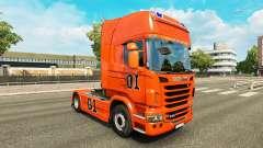 Skin Hazzard v2.0 truck Scania for Euro Truck Simulator 2