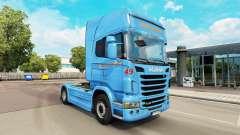Braspress skin for Scania truck for Euro Truck Simulator 2