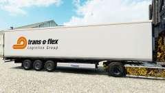 Skin Trans-o-flex semitrailer reefer for Euro Truck Simulator 2