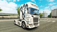 Skin Simply the Best on the tractor Scania for Euro Truck Simulator 2