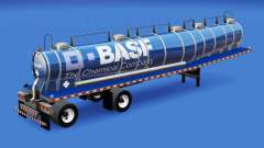 Skin BASF for chemical tank for American Truck Simulator