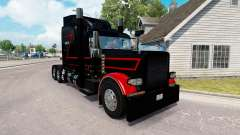 Skin Black & Red for the truck Peterbilt 389 for American Truck Simulator