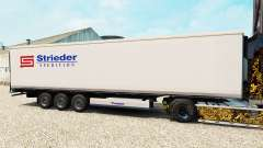 Skin Strieder on the semitrailer-the refrigerator for Euro Truck Simulator 2