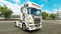 Skin Simply the Best on the tractor Scania Streamline for Euro Truck Simulator 2