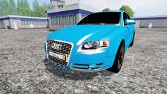 Audi A4 quattro Avant (B7) for Farming Simulator 2015