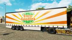 Krone curtain semi-trailer EuroGoodies for Euro Truck Simulator 2