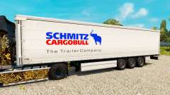 Skin for Schmitz semi-trailers for Euro Truck Simulator 2