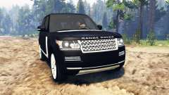 Land Rover Range Rover Vogue (L405) for Spin Tires