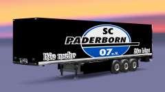 Skin SC Paderborn 07 on semi for Euro Truck Simulator 2