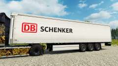 DB Schenker skin for trailers for Euro Truck Simulator 2