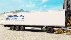 Skin Rhenus Logistics for semi-refrigerated for Euro Truck Simulator 2