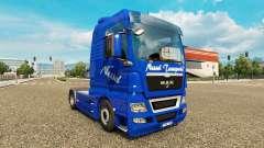 Nettle Transports skin for MAN truck for Euro Truck Simulator 2