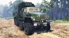 Ural-6614 for Spin Tires